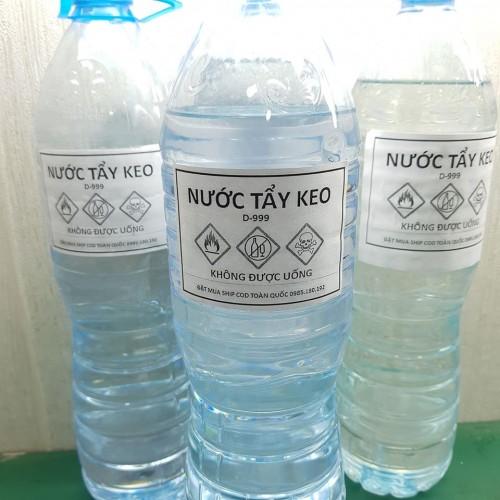Nước tẩy keo D-999 chai 1.5L