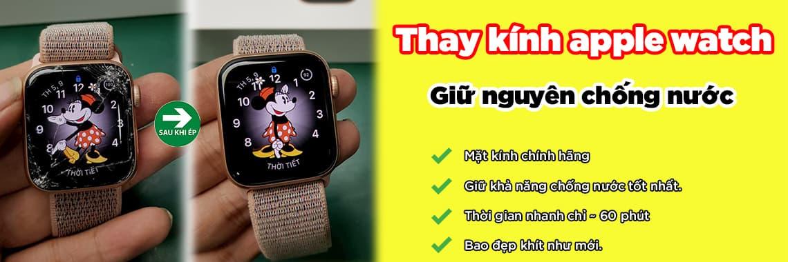thay kính apple watch