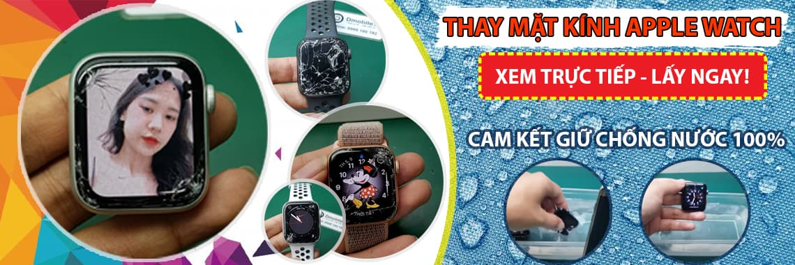 banner thay kính apple watch