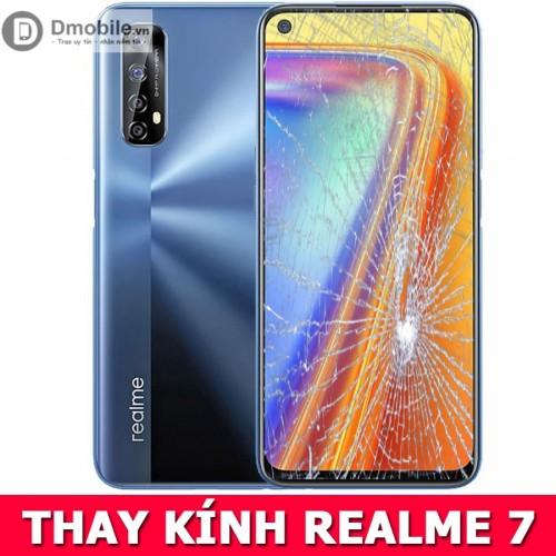 Thay mặt kính Realme 7