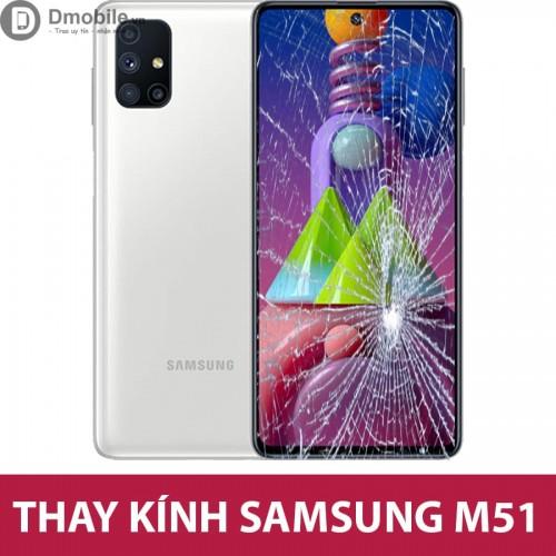 Thay mặt kính Samsung M51