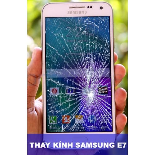 Thay mặt kính Samsung E7 tại Hà Nội
