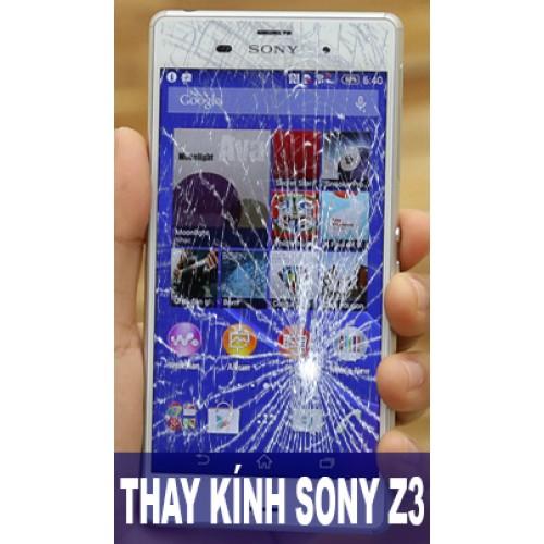 Thay mặt kính Sony Z3 tại Hà Nội