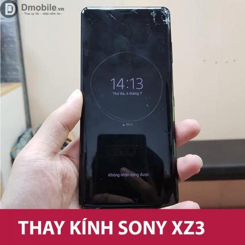 Thay ép mặt kính Sony XZ3