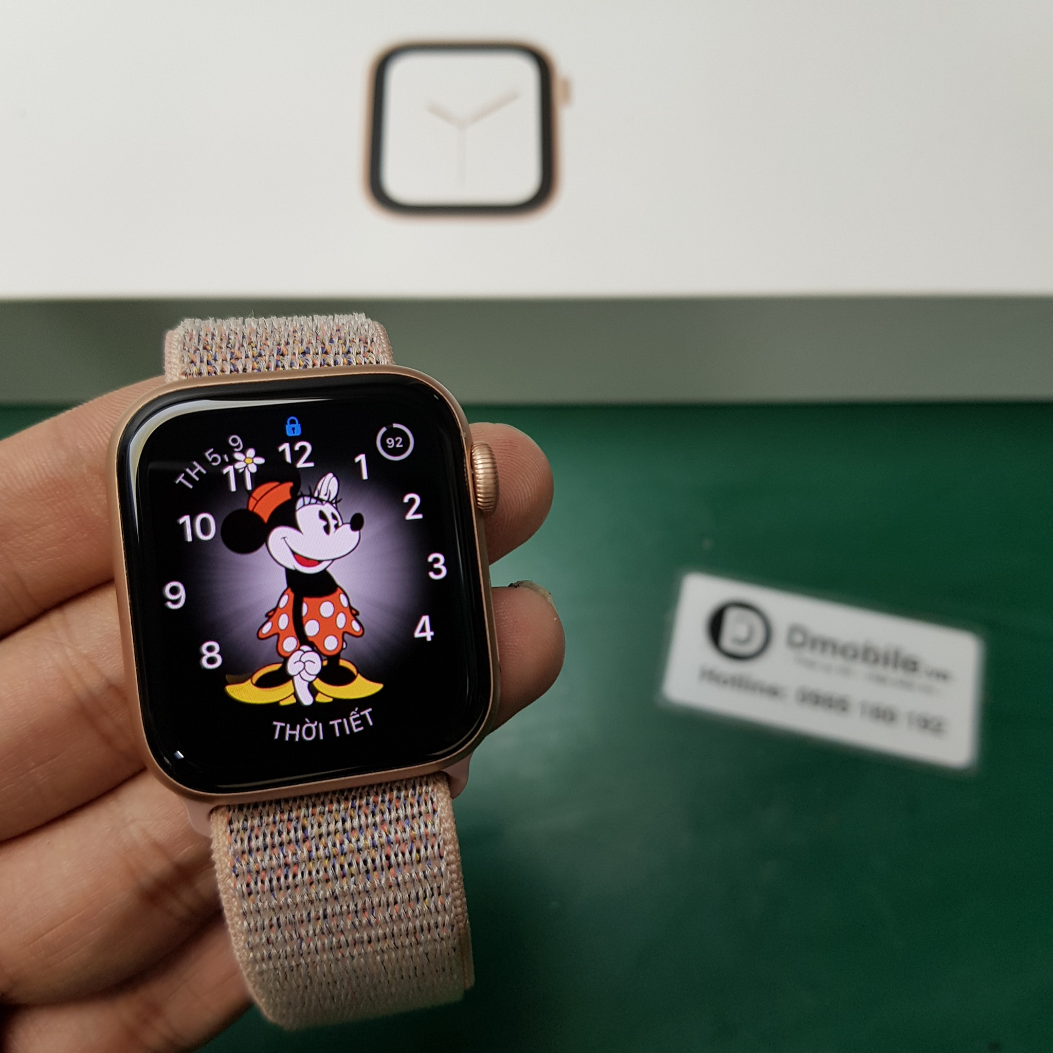 thay kính Apple Watch 4