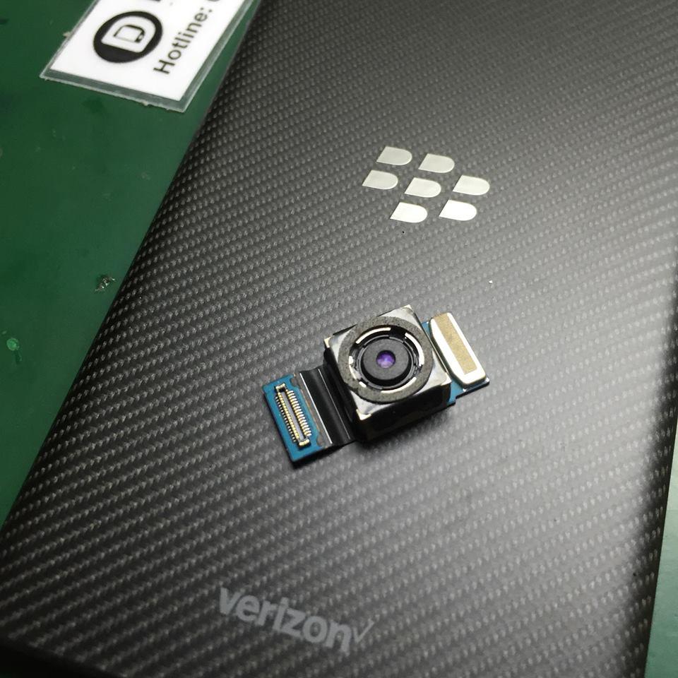 blackberry priv bị hỏng camera