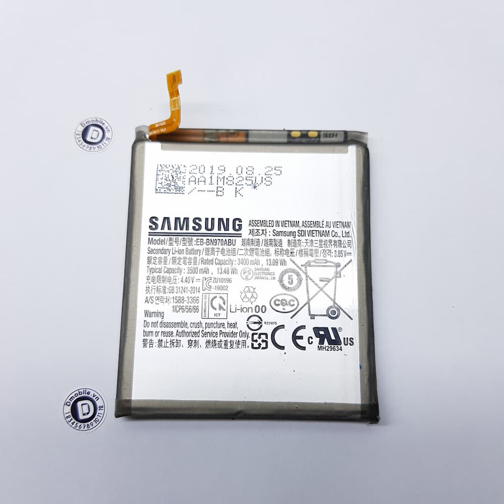 thay pin samsung note 10 plus