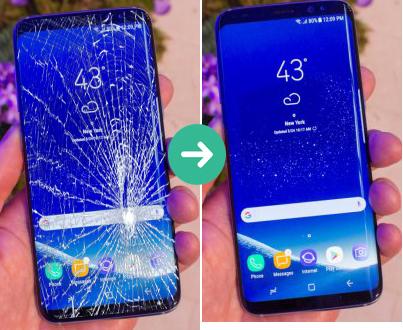 Thay mặt kính Samsung S9 giá rẻ tại hà nội