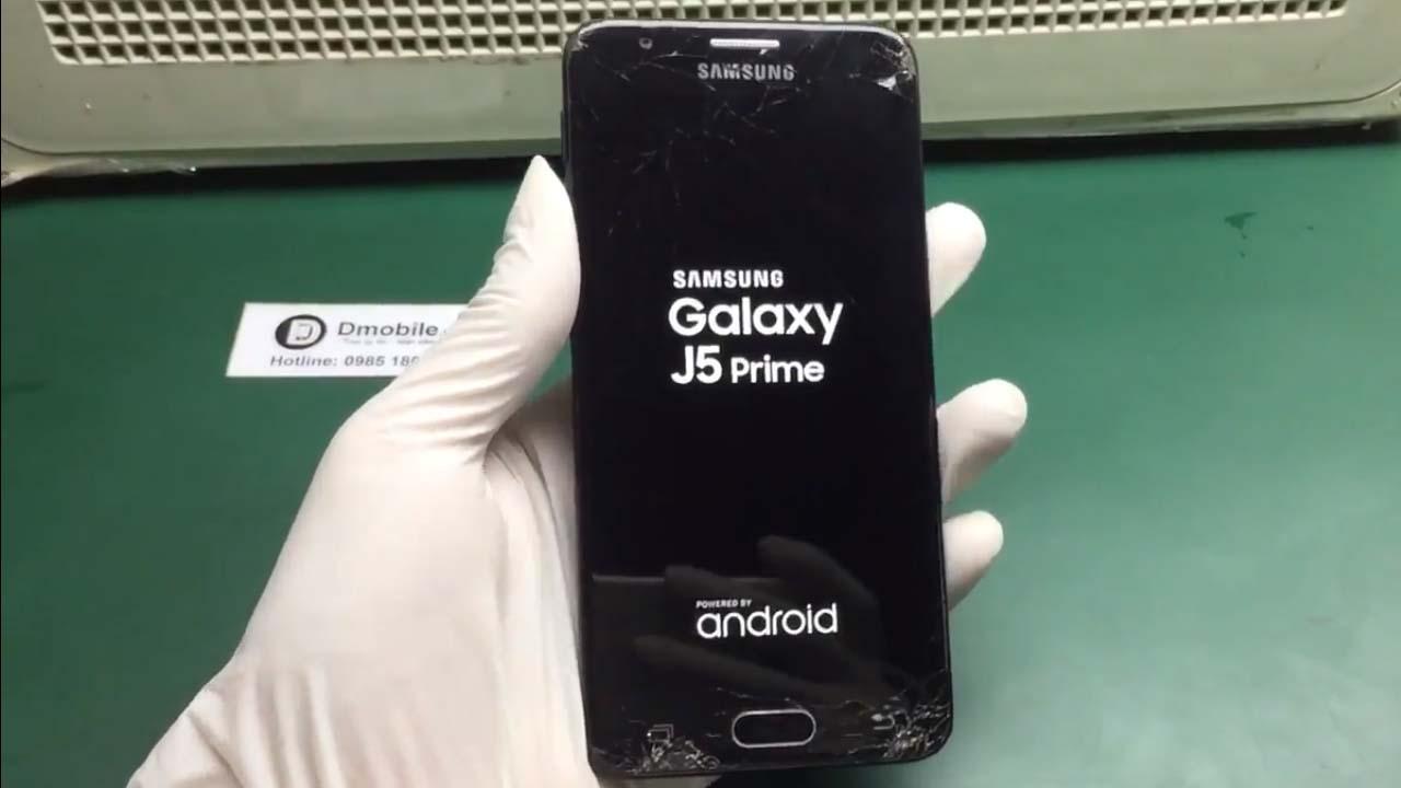 Thay mặt kính samsung J5 Prime